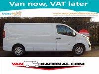 2015 VAUXHALL VIVARO 1.6 2900 L2H1 SPORTIVE 115 BHP (LONG WHEEL BASE AIR CON) £10850.00
