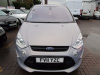 USED 2011 11 FORD S-MAX 2.0 TITANIUM X SPORT TDCI 5d 161 BHP FULL PAN ROOF HALF LEATHER