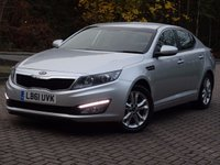 USED 2012 61 KIA OPTIMA 1.7 2 TECH CRDI 4d AUTO 134 BHP