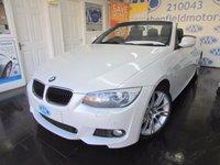 2013 BMW 3 SERIES 2.0 320D M SPORT 2d 181 BHP £11695.00