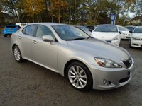 2010 LEXUS IS 2.5 250 SE-I 4d AUTO 204 BHP £6995.00