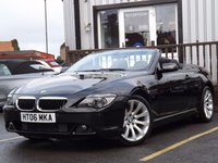 USED 2006 06 BMW 6 SERIES 3.0 630I SPORT 2d AUTO 255 BHP SUPERB 630 BMW, FULL SERVICE HISTORY, GREAT SPEC, GREAT CONDITION AND LOW MILEAGE FOR YEAR