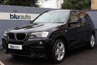 2013 BMW X3 2.0 XDRIVE20D M SPORT 5d AUTO 181 BHP £19950.00