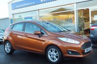 2014 FORD FIESTA 1.6 ZETEC  AUTOMATIC (POWERSHIFT) 5dr (104PS) £8995.00