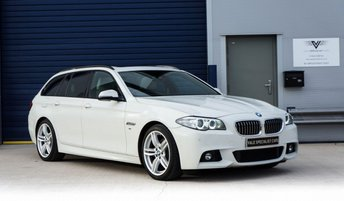 2013 BMW 5 SERIES 2.0 520D M SPORT TOURING 5d AUTO 181 BHP £SOLD