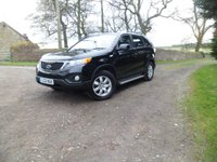 USED 2012 12 KIA SORENTO 2.2 CRDI KX-1 5d 195 BHP 7 Seat 7 SEATS. MANUFACTURERS WARRANTY. SIDE STEPS. EXCELLENT HISTORY. FINANCE FROM £172 MONTH.