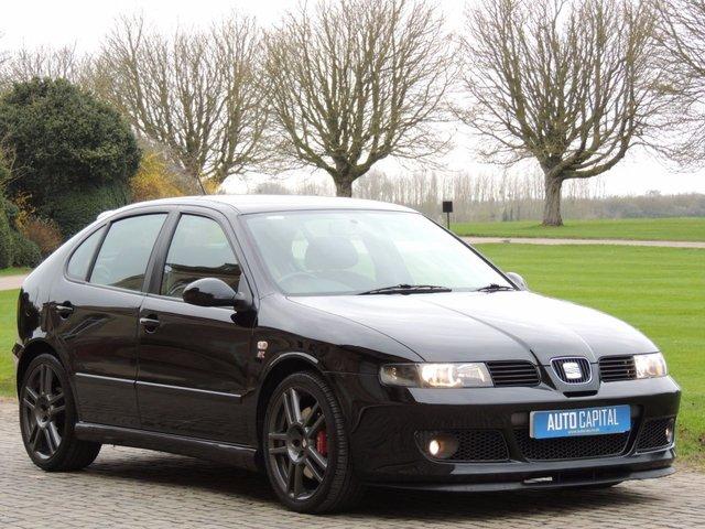 2004 04 SEAT LEON 1.8 CUPRA R 20V 5d 221 BHP