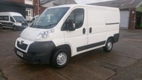 USED 2013 13 PEUGEOT BOXER 2.2 HDI 330 L1H1 1d 130 BHP 1 OWNER F/VOSA/H \ FREE 12 MONTHS WARRANTY COVER ///