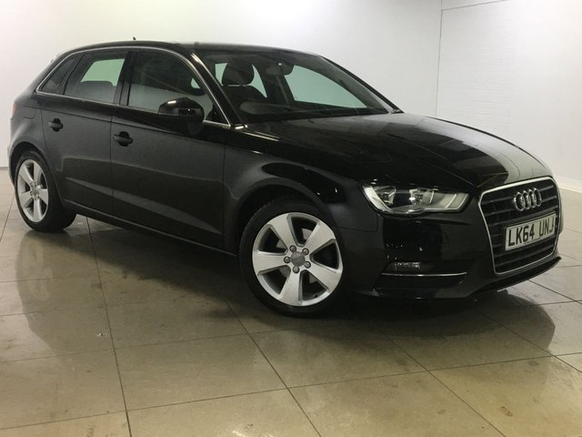 View our 2014 64 AUDI A3 1.6 TDI SPORT 5d AUTO 109 BHP