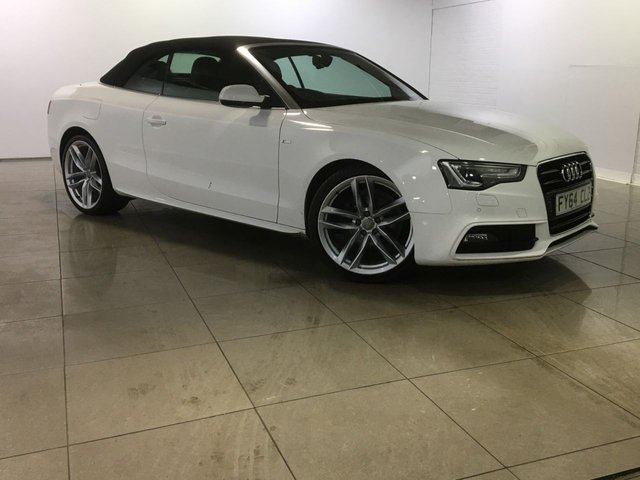 View our 2014 64 AUDI A5 2.0 TDI S LINE SPECIAL EDITION 2d 175 BHP