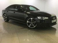 USED 2014 64 AUDI A6 2.0 TDI ULTRA S LINE BLACK EDITION 4d AUTO 188 BHP SAT NAV / LEATHER / XENON