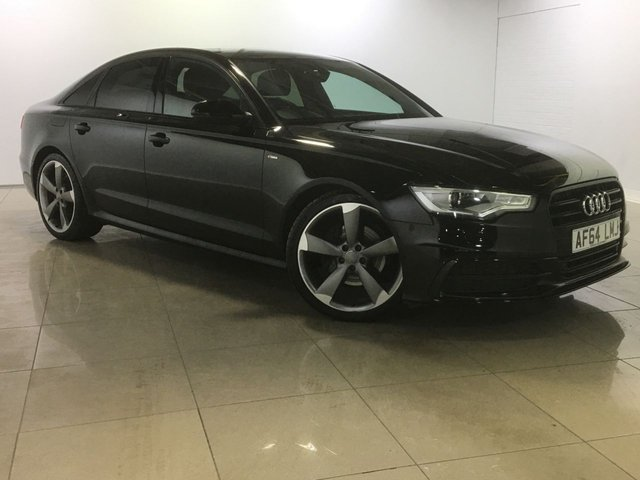 View our 2014 64 AUDI A6 2.0 TDI ULTRA S LINE BLACK EDITION 4d AUTO 188 BHP