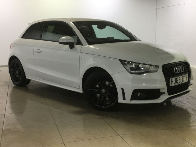 View our 2013 63 AUDI A1 1.4 TFSI S LINE 3d 122 BHP