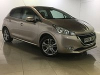 USED 2014 64 PEUGEOT 208 1.2 ALLURE 5d 82 BHP DAB / BLUETOOTH