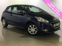 USED 2014 14 PEUGEOT 208 1.4 HDI ACTIVE 3d 68 BHP DAB / BLUETOOTH