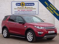 USED 2015 15 LAND ROVER DISCOVERY SPORT 2.2 SD4 HSE LUXURY 5d AUTO 190 BHP Full Land Rover History Luxury 0% Deposit Finance Available