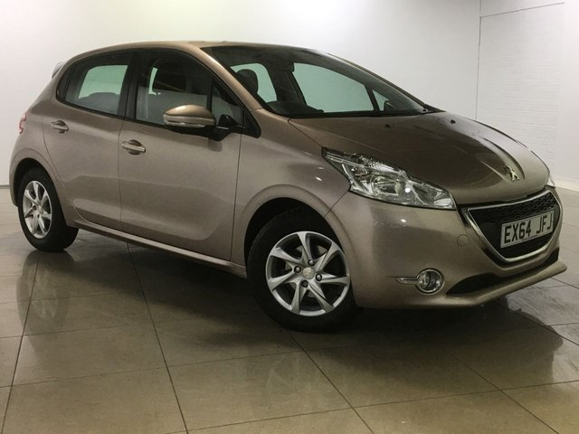 View our 2014 64 PEUGEOT 208 1.4 E-HDI ACTIVE 5d AUTO 68 BHP
