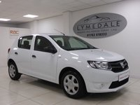 USED 2014 14 DACIA SANDERO 1.1 AMBIANCE 5d 75 BHP Great Car, Full Dealer History, 1 Owner, MOT 15.11.18