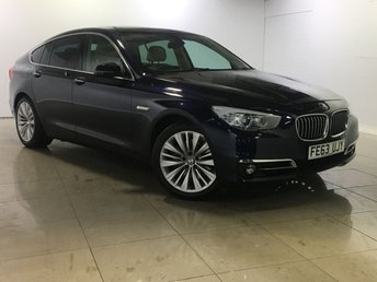 2013 BMW 5 SERIES 3.0 530D LUXURY GRAN TURISMO 5d AUTO 255 BHP £18739.00