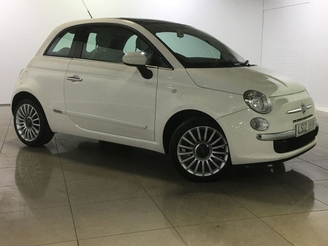 View our 2012 12 FIAT 500 1.2 LOUNGE 3d 69 BHP
