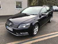 USED 2012 62 VOLKSWAGEN PASSAT 2.0 SE TDI BLUEMOTION TECHNOLOGY 5d 139 BHP FULL SERVICE HISTORY + CAMBELT AT 79K **VIENNA LEATHER*