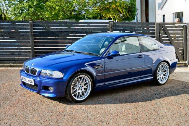 2005 05 BMW M3 3.2 M3 CS INTERLAGOS BLUE