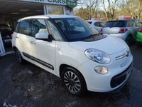 USED 2014 14 FIAT 500L 1.4 POP STAR 5d 95 BHP Low Mileage, Just Serviced by ourselves, MOT until November 2018 (no advisories)