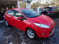 USED 2012 12 FORD FIESTA 1.2 ZETEC 3d 79 BHP Ford Service History + Just Serviced by ourselves, NEW MOT (to be completed), Two Previous Owners
