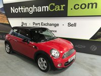 2013 MINI HATCH COOPER COOPER £7995.00