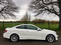 2013 MERCEDES-BENZ C CLASS 2.1 C220 CDI BLUEEFFICIENCY AMG SPORT 2d AUTO 170 BHP £13995.00