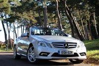 2011 MERCEDES-BENZ E CLASS 2.1 E250 CDI BLUEEFFICIENCY SPORT 2d AUTO 204 BHP £13990.00