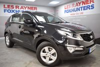 USED 2014 64 KIA SPORTAGE 1.7 CRDI 1 5d 114 BHP Full Kia Service History, Low Miles, Bluetooth connectivty, Cruise control