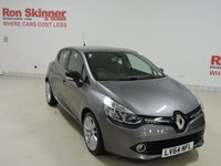 USED 2014 64 RENAULT CLIO 0.9 DYNAMIQUE S MEDIANAV ENERGY TCE S/S 5d 90 BHP