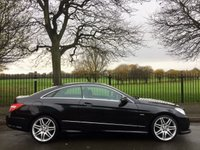 2012 MERCEDES-BENZ E CLASS 2.1 E250 CDI BLUEEFFICIENCY S/S SPORT 2d AUTO 204 BHP £11995.00