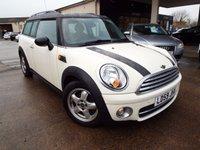 USED 2009 59 MINI CLUBMAN 1.6 COOPER D 5d 108 BHP