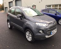 USED 2015 64 FORD ECOSPORT 1.0 TITANIUM ECOBOOST 125 BHP THIS VEHICLE IS AT SITE 1 - TO VIEW CALL US ON 01903 892224
