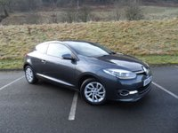 USED 2014 64 RENAULT MEGANE 1.5 DYNAMIQUE TOMTOM ENERGY DCI S/S 3d 110 BHP FULL SERVICE HISTORY, £0 ROAD TAX