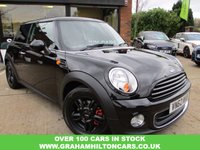 USED 2012 62 MINI HATCH ONE 1.6 ONE 3d 98 BHP ONE PRIVATE OWNER, COOPER S SPOILER, PEPPER PACK, ALLOYS, CLIMATE CONTROL, FULL MAIN DEALER SERVICE HISTORY