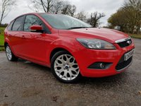 USED 2010 10 FORD FOCUS 1.8 ZETEC 5d SERVICE HISTORY