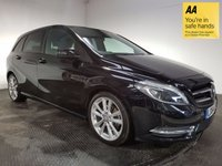 USED 2014 64 MERCEDES-BENZ B CLASS 1.5 B180 CDI BLUEEFFICIENCY SPORT 5d AUTO 107 BHP FULL MERCEDES HISTORY - ONE OWNER - BLUETOOTH - FULL LEATHER - CD PLAYER - USB - PRIVACY GLASS