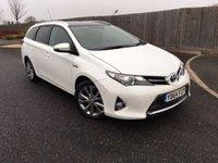 2014 TOYOTA AURIS 1.8 VVT-I EXCEL 5d AUTO 98 BHP £13985.00