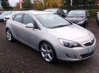 2010 VAUXHALL ASTRA 1.6 SRI 5d AUTO 113 BHP £5500.00