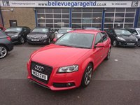 USED 2012 62 AUDI A3 2.0 SPORTBACK TDI S LINE SPECIAL EDITION 5d AUTO 138 BHP