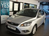 USED 2010 60 FORD FOCUS 1.6 ZETEC 5d AUTO 99 BHP Privately owned, full service history, Supplied with a service & Mot