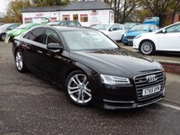 USED 2015 65 AUDI A8 4.0 S8 TFSI V8 QUATTRO 4d AUTO 513 BHP Full Audi Service History