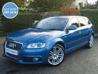 USED 2010 10 AUDI A3 2.0 TDI S LINE 5d 168 BHP - £3700 OF EXTRAS - ** FMDSH + 1 OWNER + £3700 OF EXTRAS **