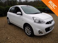 USED 2014 14 NISSAN MICRA 1.2 ACENTA 5d AUTO 79 BHP Ready to Drive away. Small Automatic Car