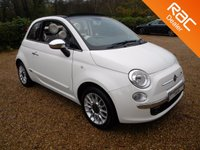 USED 2013 13 FIAT 500 1.2 C LOUNGE 3d 69 BHP Climate Control , Rear PDS , Half Leather , Bluetooth