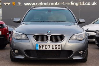 2007 BMW 5 SERIES 3.0 530d M Sport Touring 5dr £8477.00