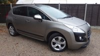 USED 2011 61 PEUGEOT 3008 1.6 EXCLUSIVE E-HDI FAP 5dr AUTO Fantastic Specification, FSH